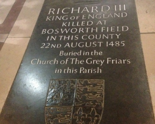 Leicester Cathedral - Richard III, May 2013