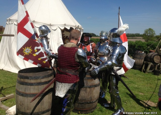Battle of Bosworth, May 2013