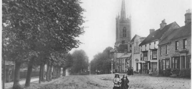 Windhill and parish church, Bishop's Stortford
