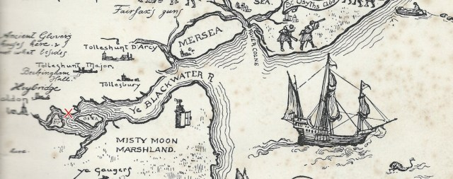 Fred Roe's Map of Essex 1929 (Heybridge)