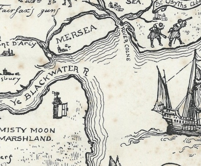 Fred Roe's Map of Essex 1929