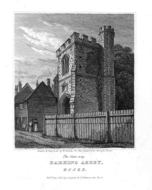 Barking Abbey 1818