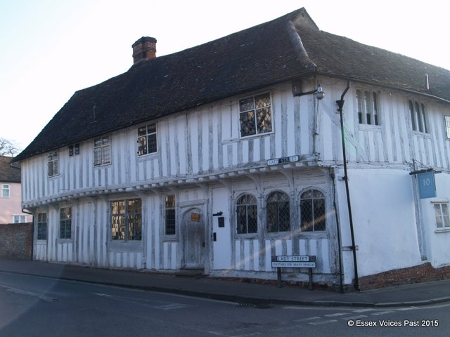 Row of Tudor shops, Lavenham