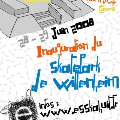 Week-end d'inauguration du Skatepark de Wittenheim (2008)