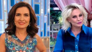 Disputa por artistas cria tensão entre Ana Maria e Fátima Bernardes