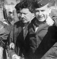 El General Rosso Serrano durante la captura de Pablo Escobar. Foto: Especial