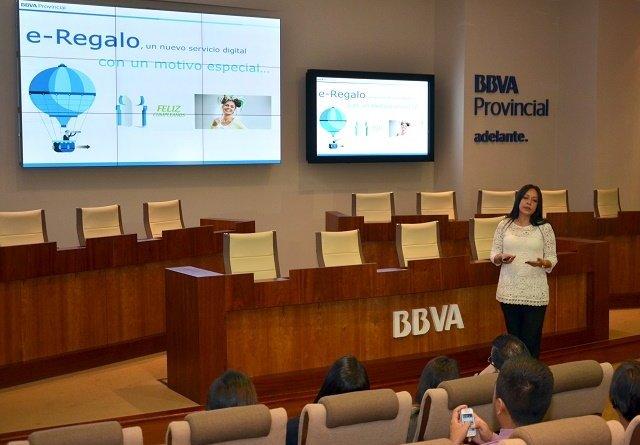 Maribel De Castro, vicepresidenta de Desarrollo de Negocio de BBVA Provincial, durante la presentación