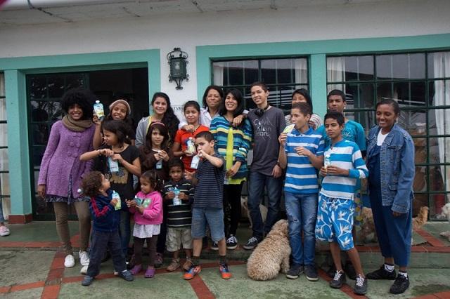 Niños de Casa Hogar Nueva Esperanza