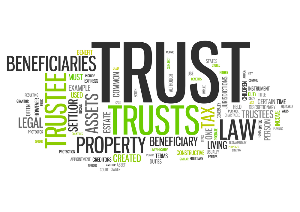 Trustee Ownership \ The Revocable Living Trust - San Diego Estate - living trust form