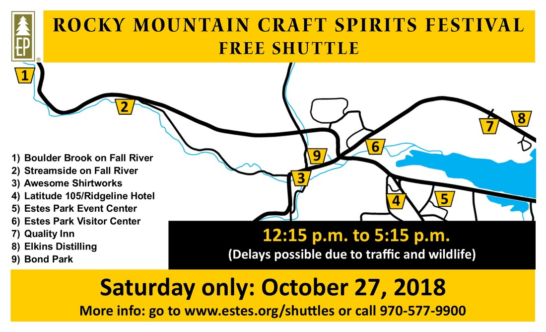 Rocky Mountain Craft Spirits Festival - Estes Park Events Complex