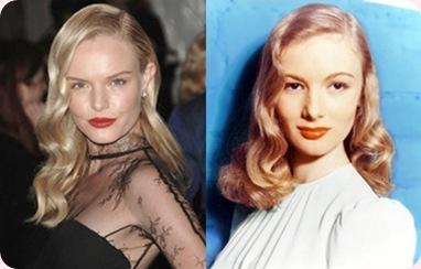 Tendencias peinados mujer 2013: Las famosas apuestan por los peinados Vintage