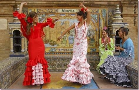 Tiendas online de Trajes de Flamenca