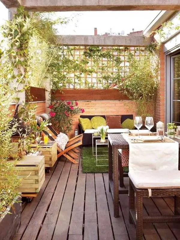 7 ideas para decorar balcones o terrazas - Decoración de Interiores - Decoracion De Terrazas Con Plantas