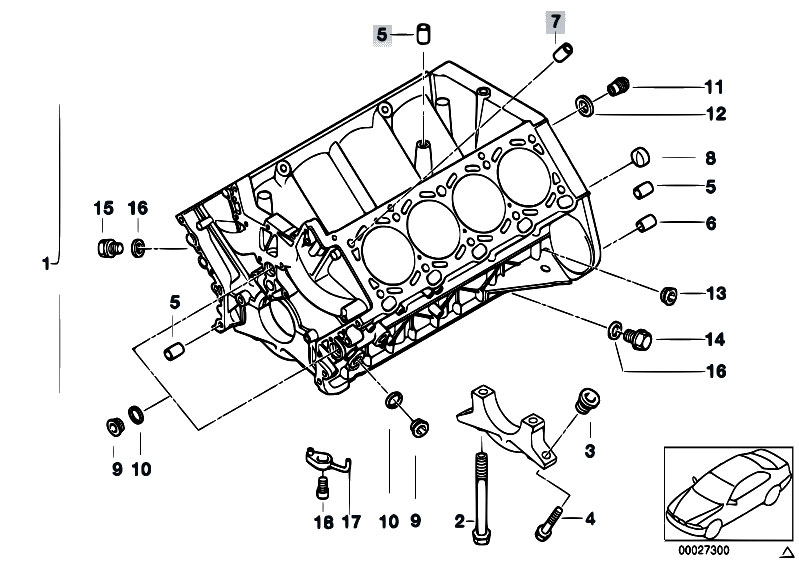 bmw e52 engine diagram