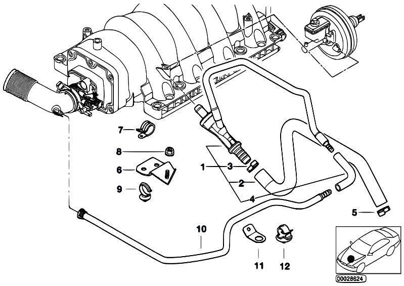 86 bmw 735i vacuum diagram