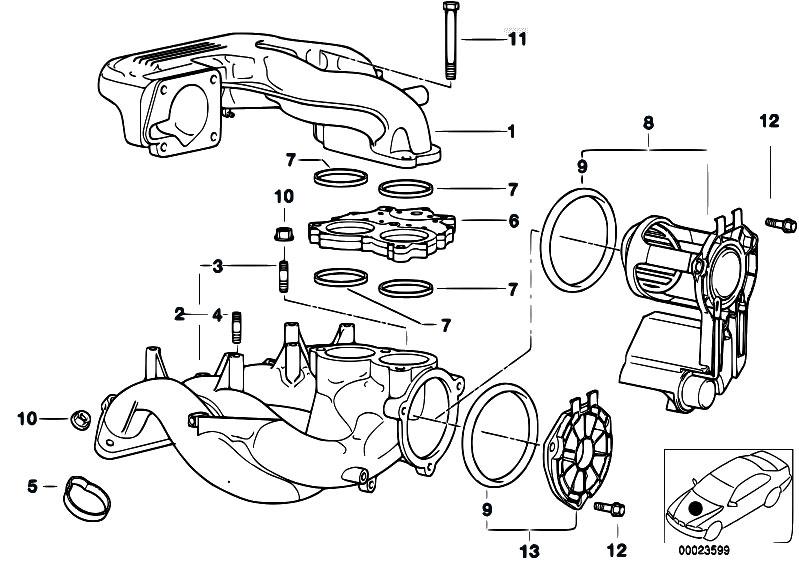 bmw e36 316i engine diagram