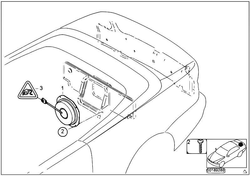 subwoofer parts diagram