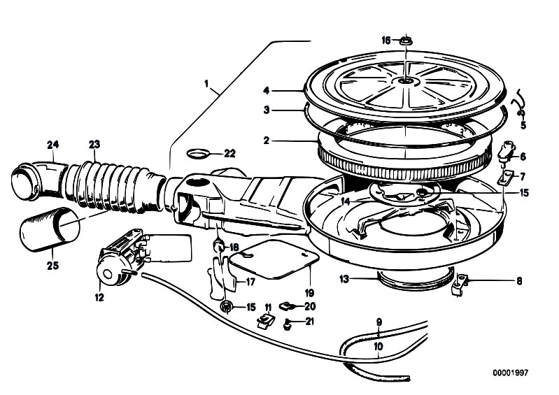 fuel filter silencer