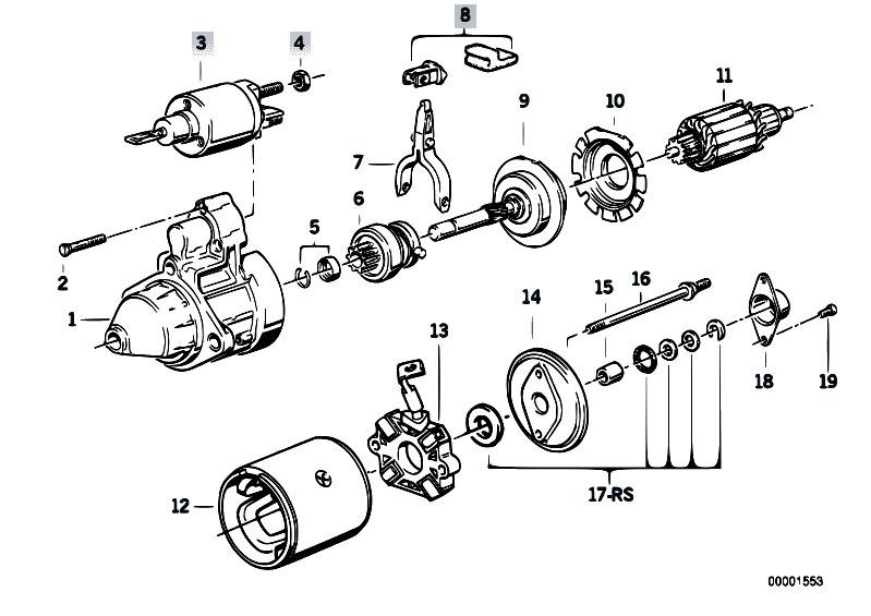 bmw m42 Motor diagram