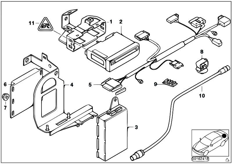 bmw 525 audio system wiring diagram