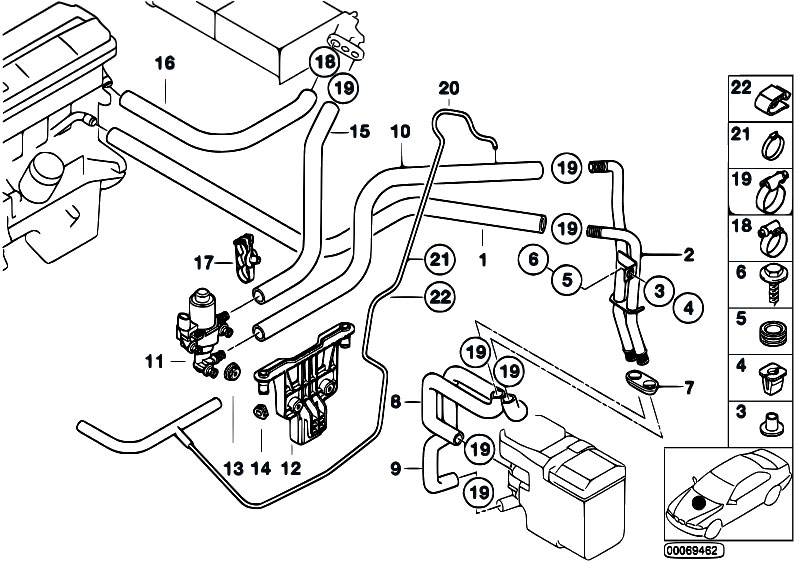 bmw e46 gps wiring harness