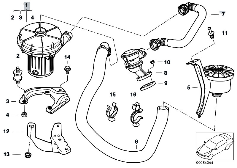 bmw factory engine diagram