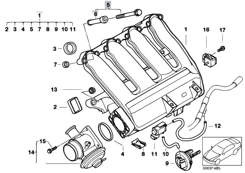 e46 Motor diagram bmw 330 d