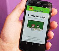 Acesse o site pelo Celular ou Tablet