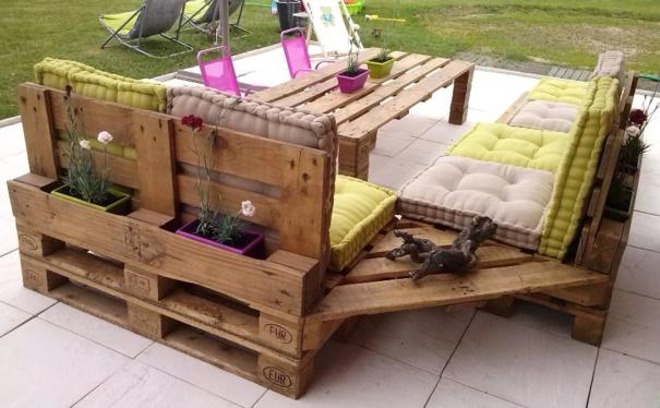 100 Diseños de Muebles con Palets para Interior y Exterior - Estreno - Terrazas Con Palets