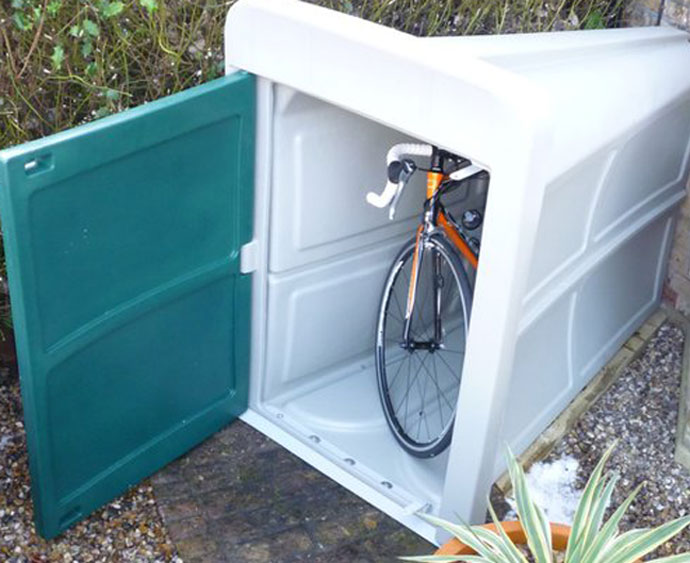Build A Shed Easy And Fast Garden Bicycle Storage Box