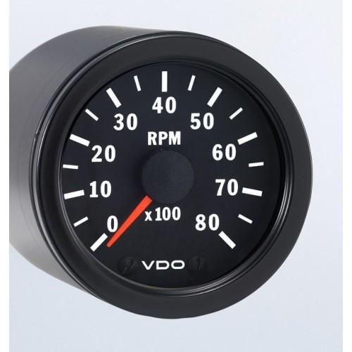 VDO 52mm Tachometer 8000rpm