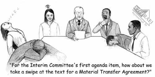 Material Transfer Agreement ETC Group - transfer agreements