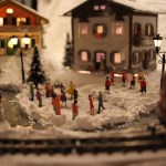 Bisno Bavarian Village on narrow gauge line