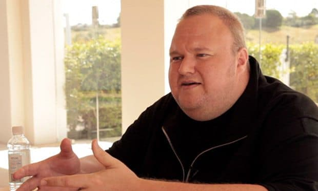 Kim Dotcom on Mega, Hollywood, the internet and copyright enforcement - video