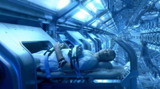 Avatar suspended animation