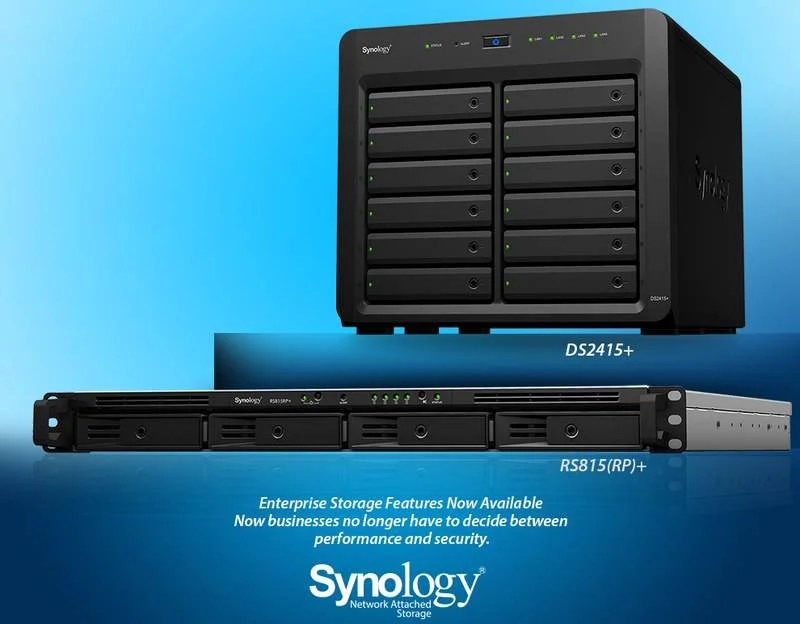 Synology DS2415p RS815RPp