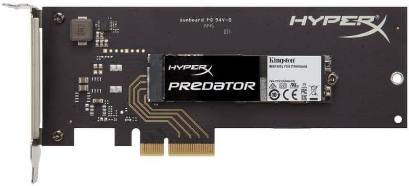HyperX Predator PCIe HHHL Short Bracket