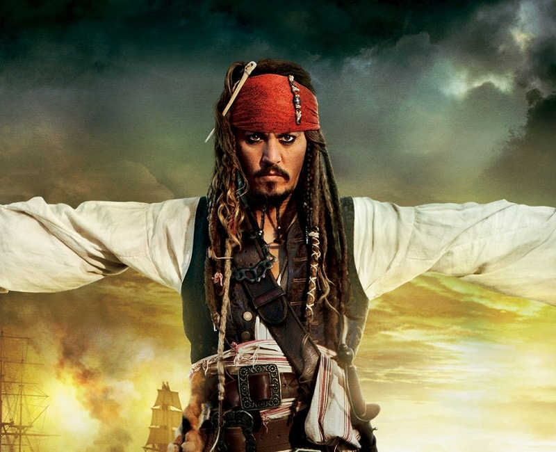 Johnny Depp Jack Sparrow