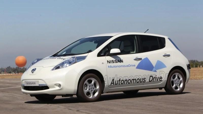 nissan self-driving