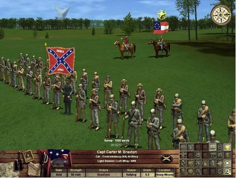 Apple iOS Civil War App Confederate Flag