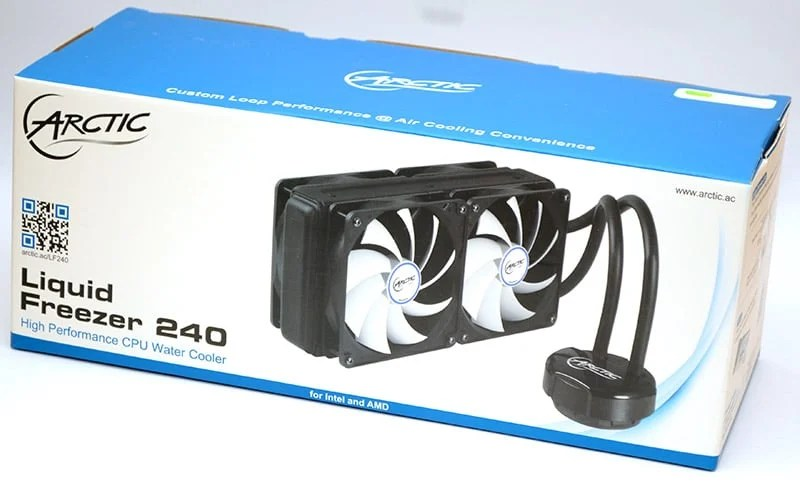 Arctic Liquid Freezer 240 Aio Cooler Review Eteknix