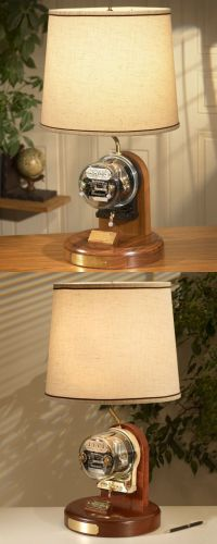 TNT: HERITAGE Westinghouse Antique Residential Meter Lamp
