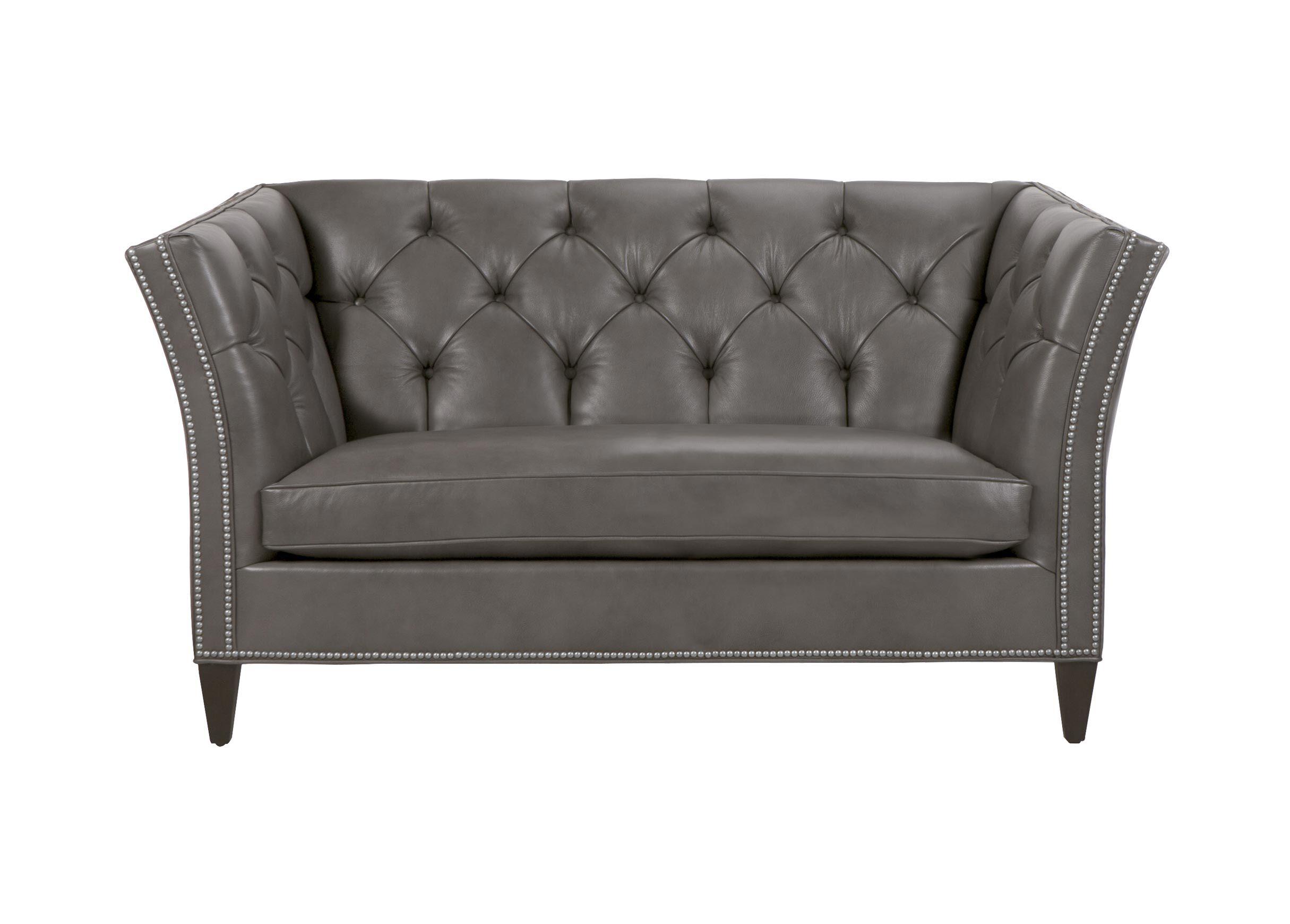 Shelton Leather Sofa Quick Ship Sofas Loveseats Ethan Allen