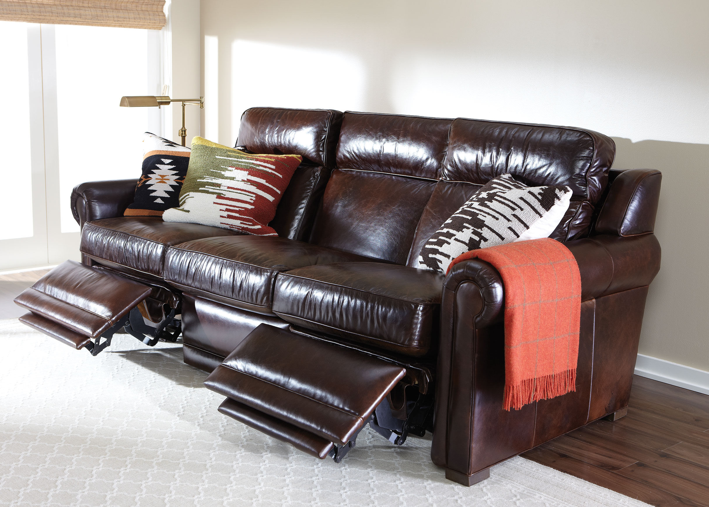 Ethan Allen Recliner Sofas Recliners Leather And Fabric