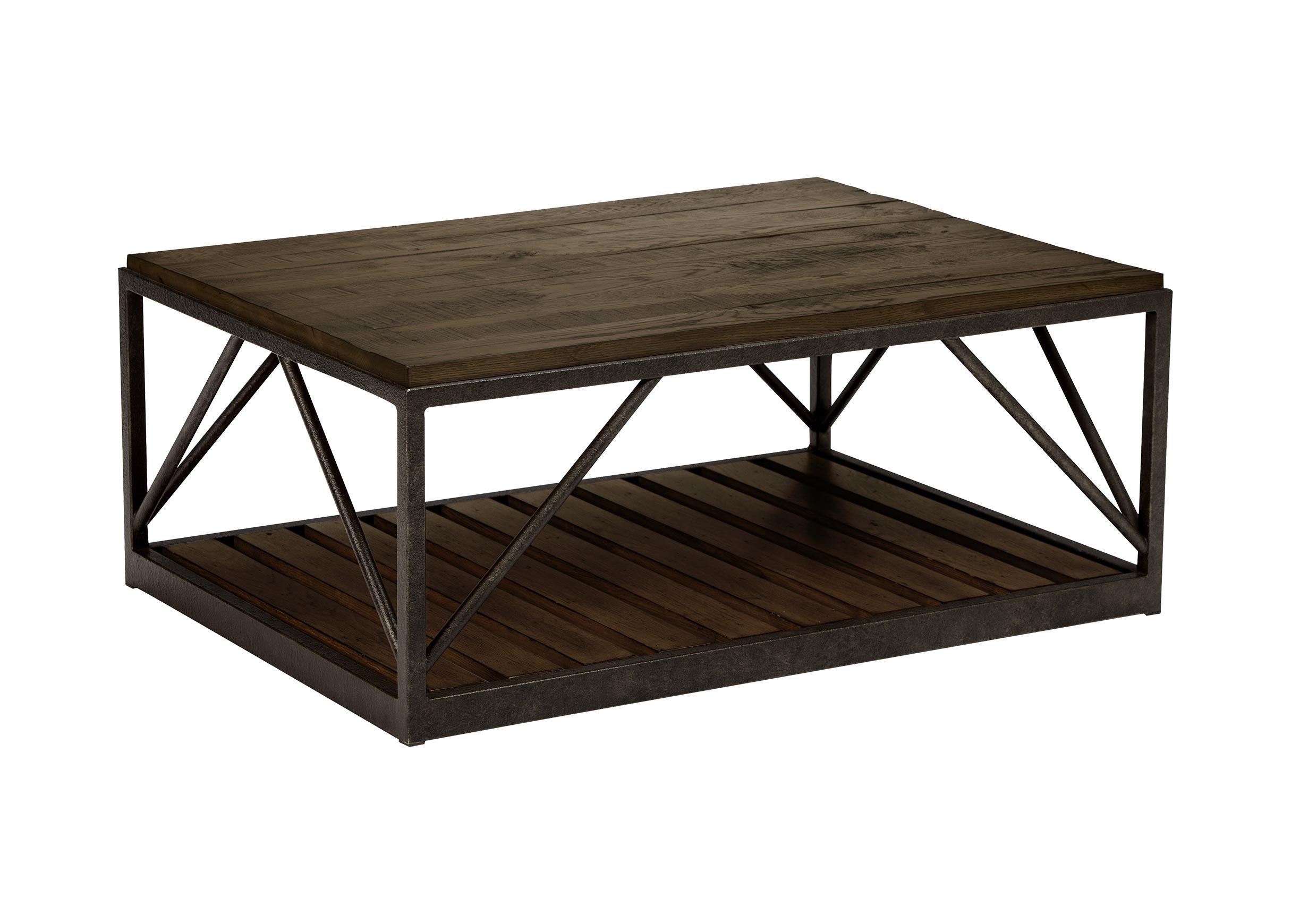 Beam Metal Base Coffee Table