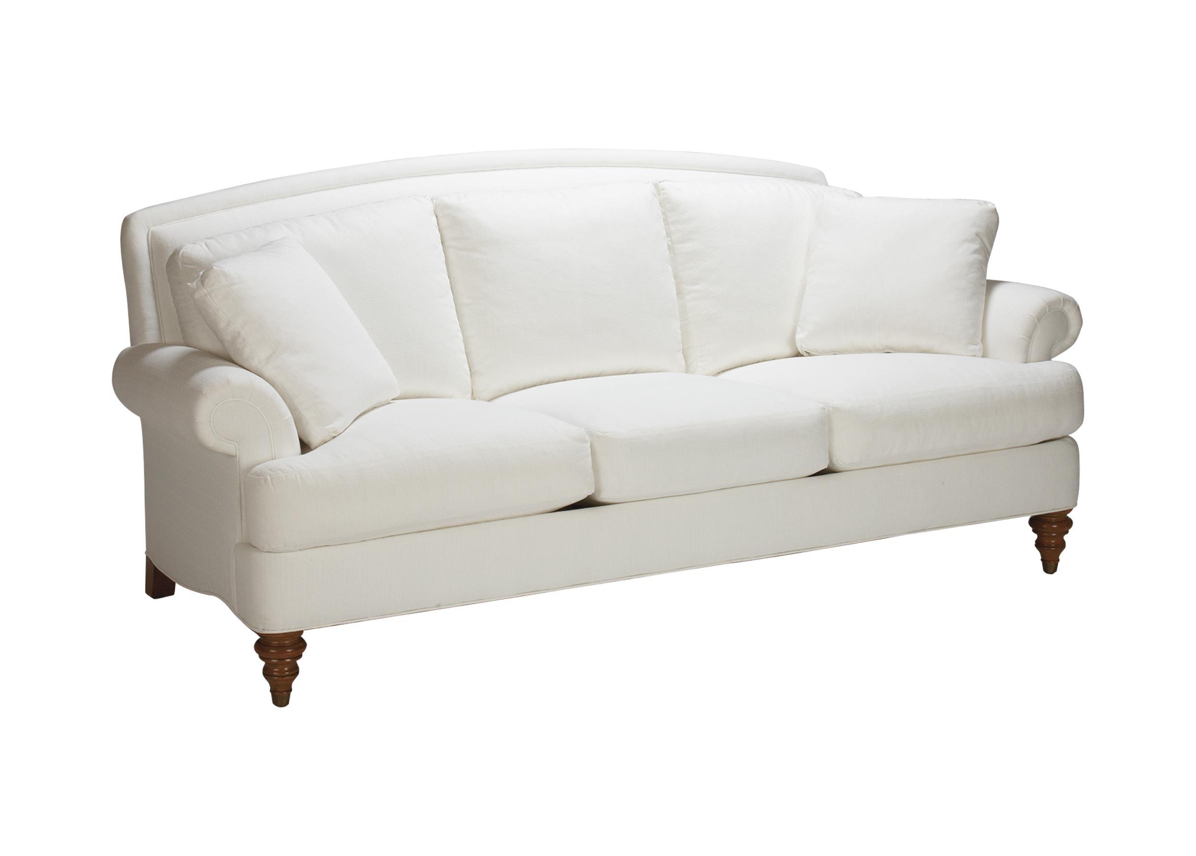 Hyde Three Cushion Sofa Sofas Loveseats Ethan Allen