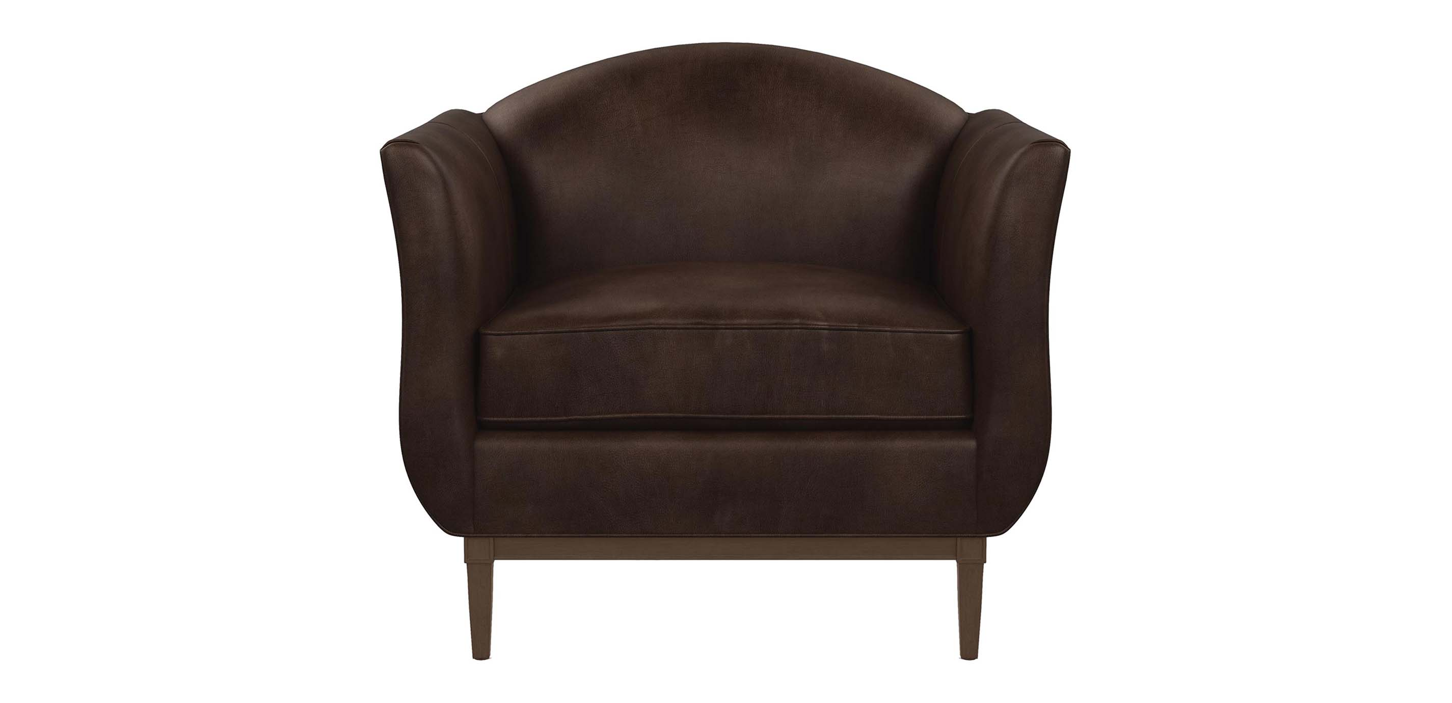Audrey Leather Chair The Audrey Collection Ethan Allen