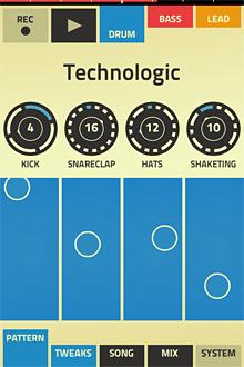 Figure drum programming interface