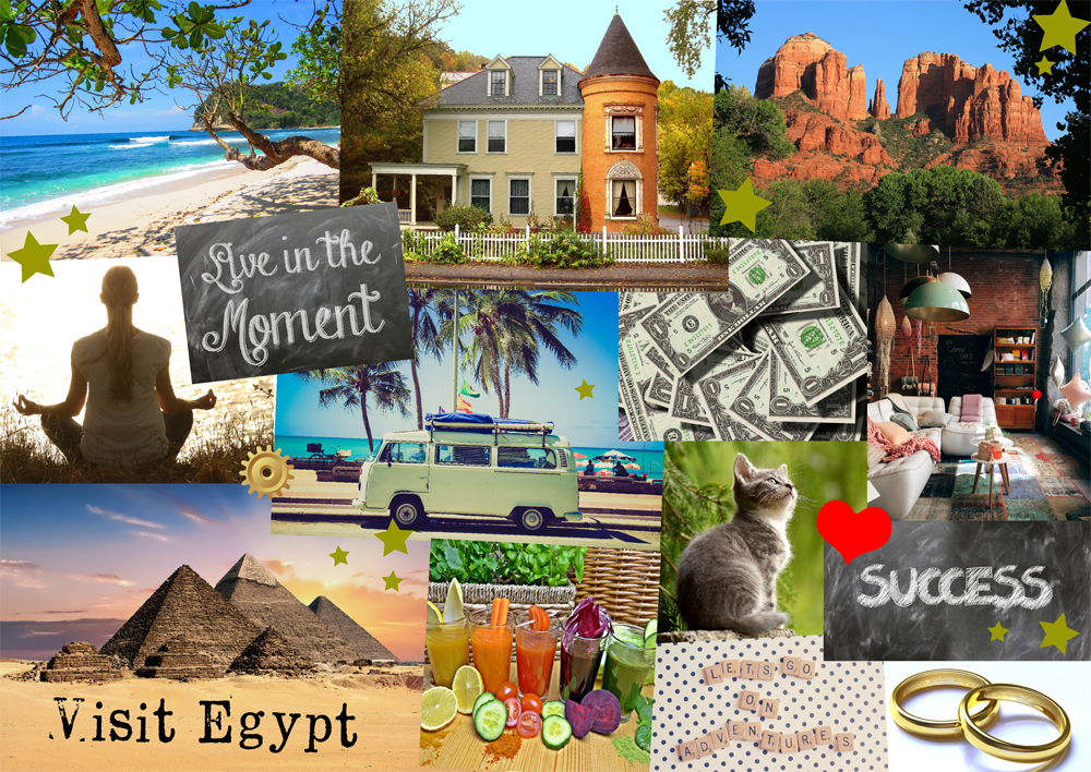 How To Make A Vision Board To Manifest Your Goals Ethan