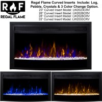 23 electric fireplace insert - Electric Fireplace Heat